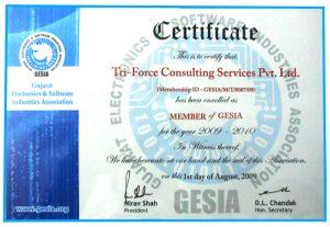 gesia-certificate